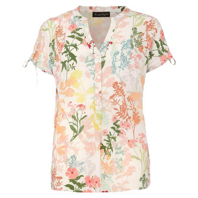 Phase Eight Remee Floral Print Shirt