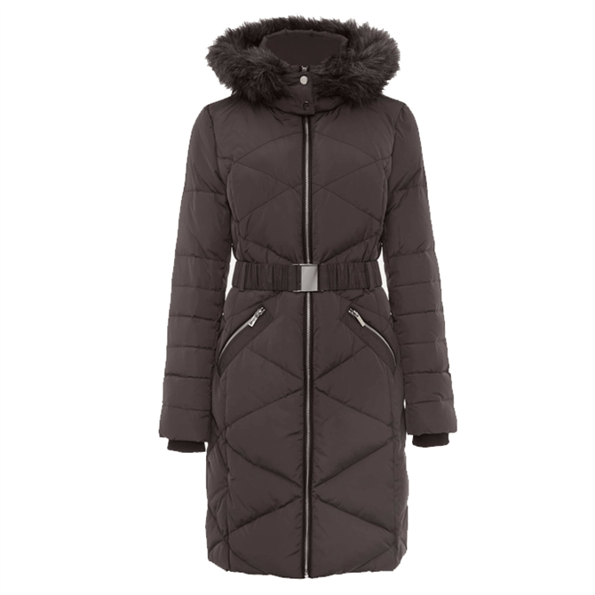 Phase Eight Remy Diamond Long Puffer Coat