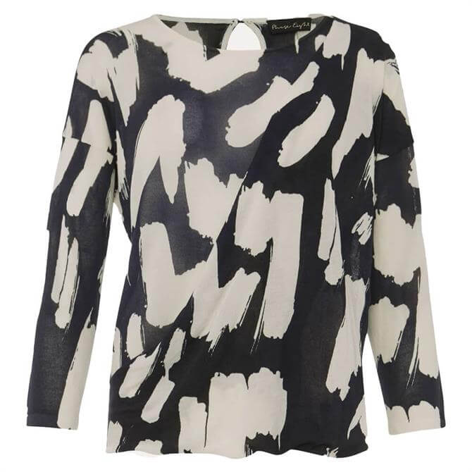 Phase Eight Robyn Smudge Print Jumper