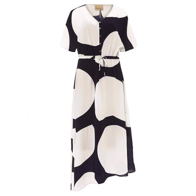 Phase Eight Sage Spot Dress