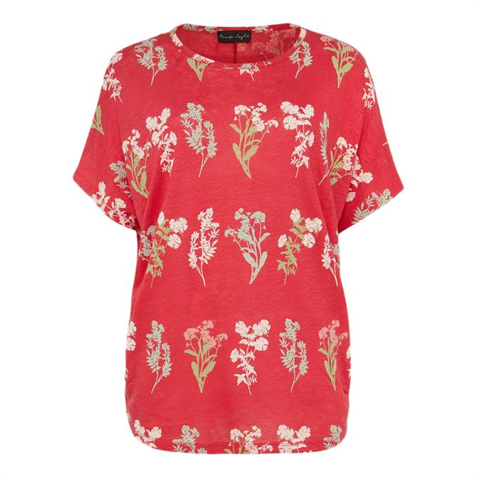 Phase Eight Salina Floral Linen Top