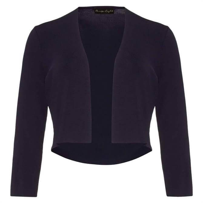 Phase Eight Lightweight Knitted Navy Jacket