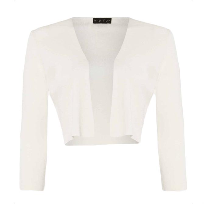 Phase Eight Salma Lightweight Ivory Knitted Jacket
