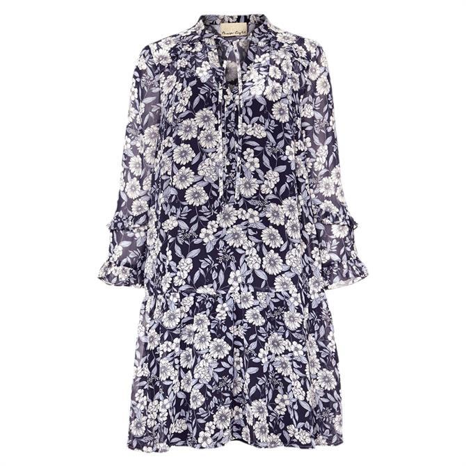 Phase Eight Sassie Floral Chiffon Tunic Dress