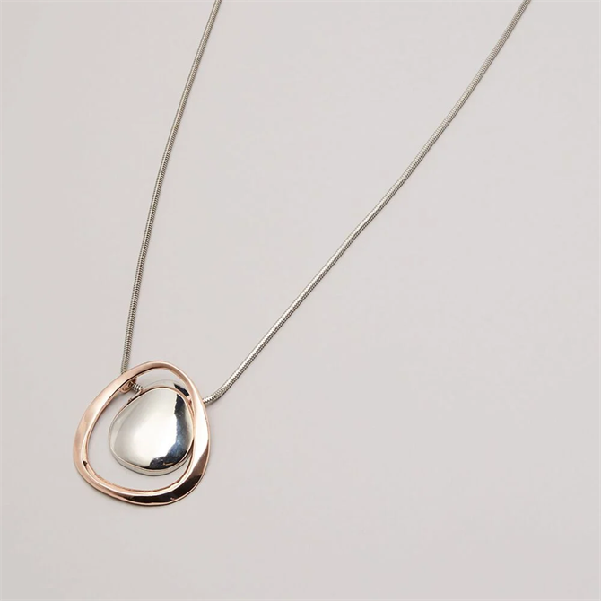 Phase Eight Shelly Pendant Necklace