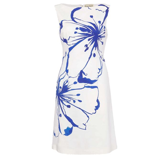 Silva Floral Dress White