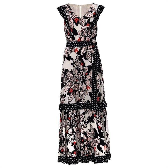 Phase Eight Suki Floral Tiered Maxi Dress