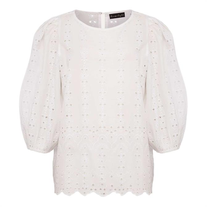 Phase Eight Tameka Broderie Anglaise Top