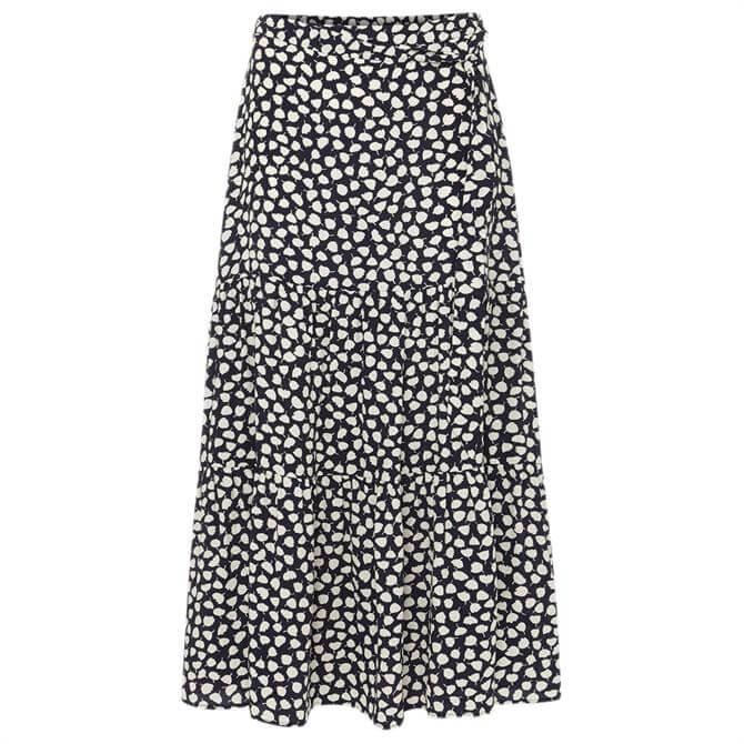 Phase Eight Tana Leaf Print Maxi Skirt