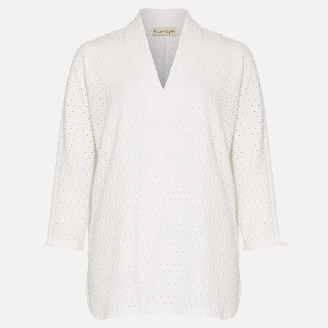 Phase Eight Vanessa Broderie Top