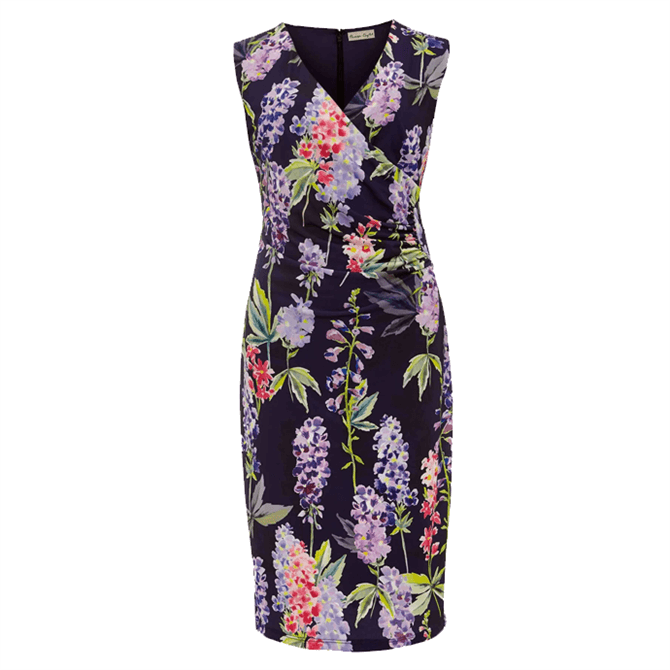 Phase Eight Winifred Floral Fitted Jersey Dress