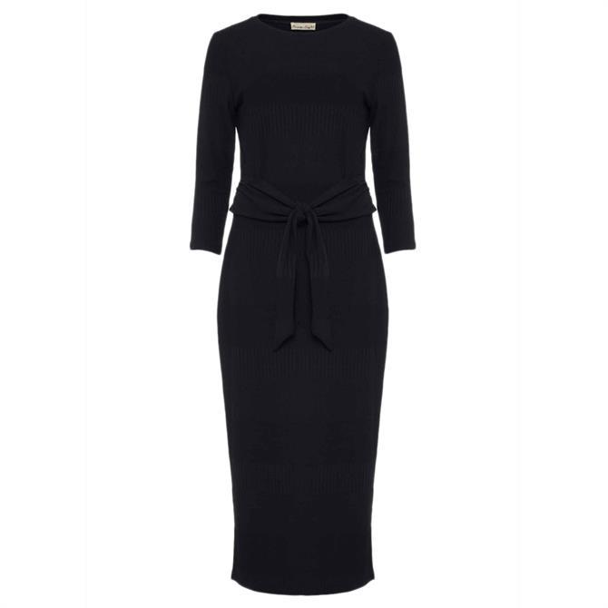 Phase Eight Yazmina Long Sleeve Ribbed Dress