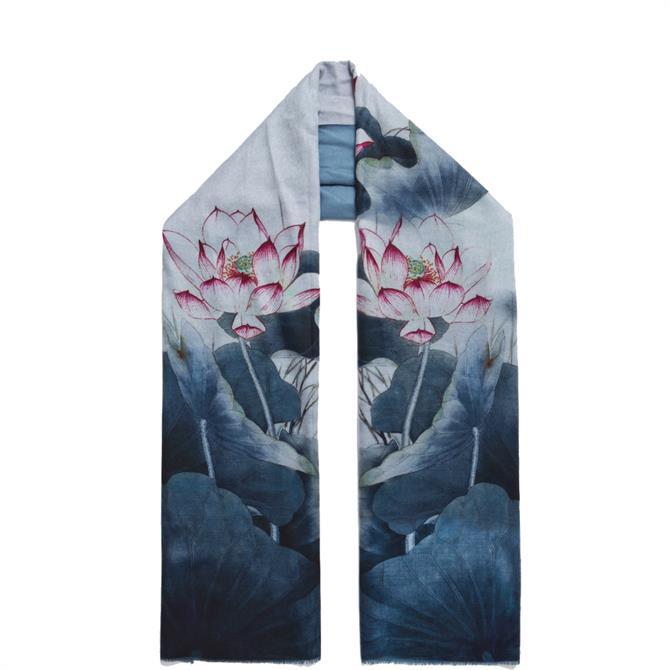 Pia Rossini Oki Reversible Floral Scarf