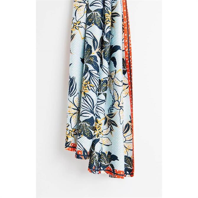 Pia Rossini Isla Tropical Floral Print Scarf