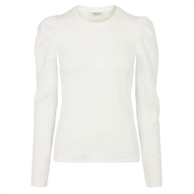 Pieces Anna Puff Long Sleeved Top
