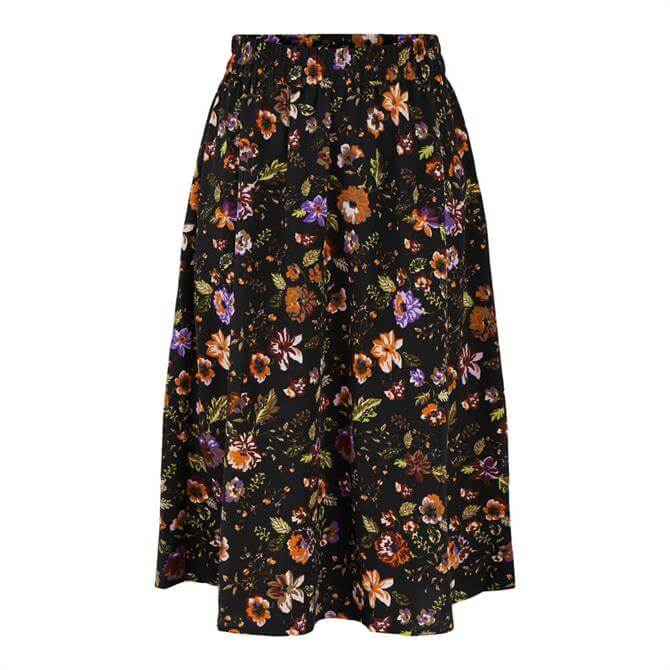 Pieces Falish Midi Skirt