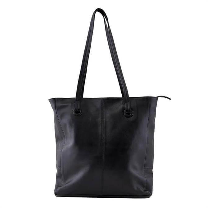 Pieces Fikka Leather Shopper Bag