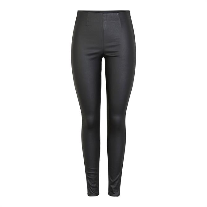 Pieces Paro Coated Leggings