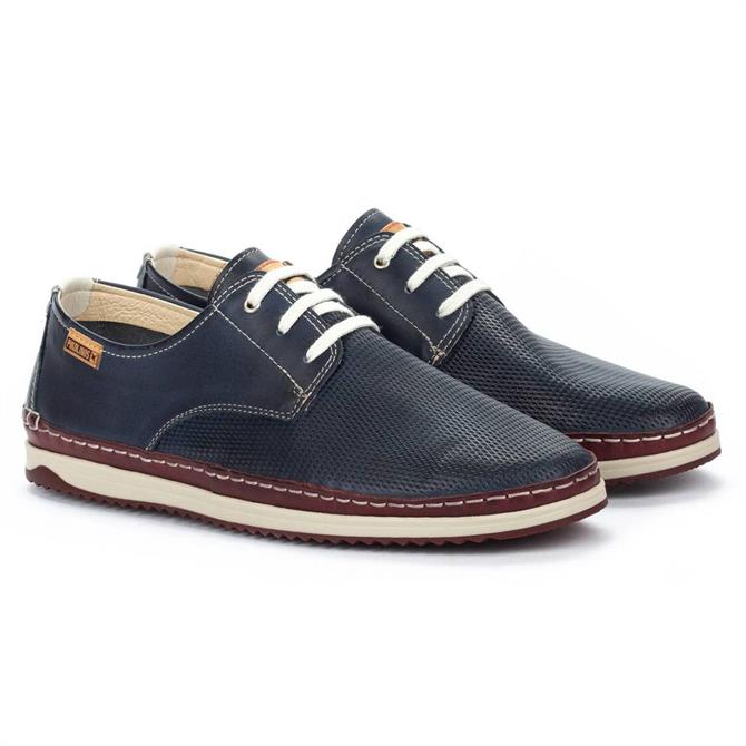 Pikolinos Motril M1N Blue Leather Shoe
