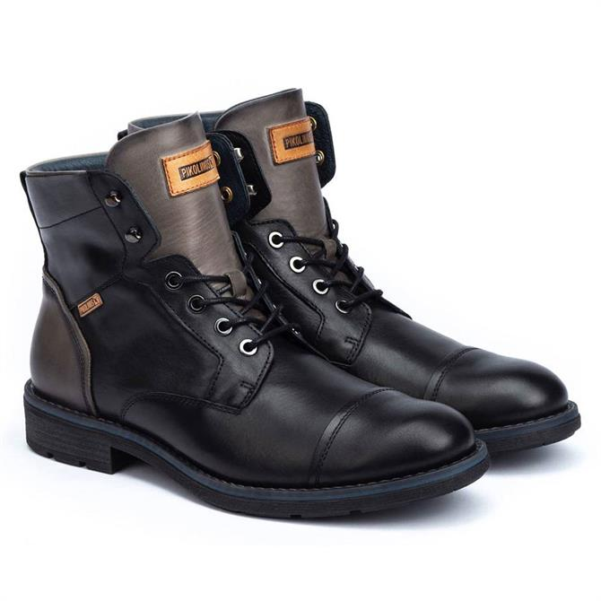 Pikolinos York M2M Leather Boots