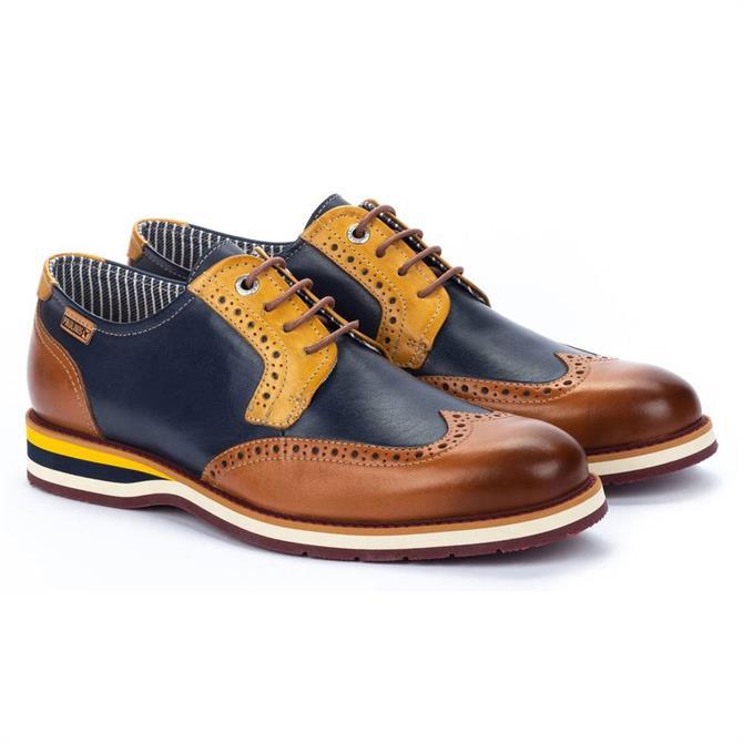 Pikolinos Arona M5R Brogue Detail Shoe