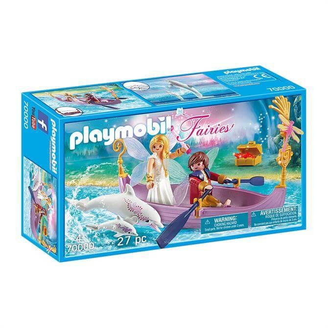 Playmobil Fairies Romantic Fairy Boat 70000