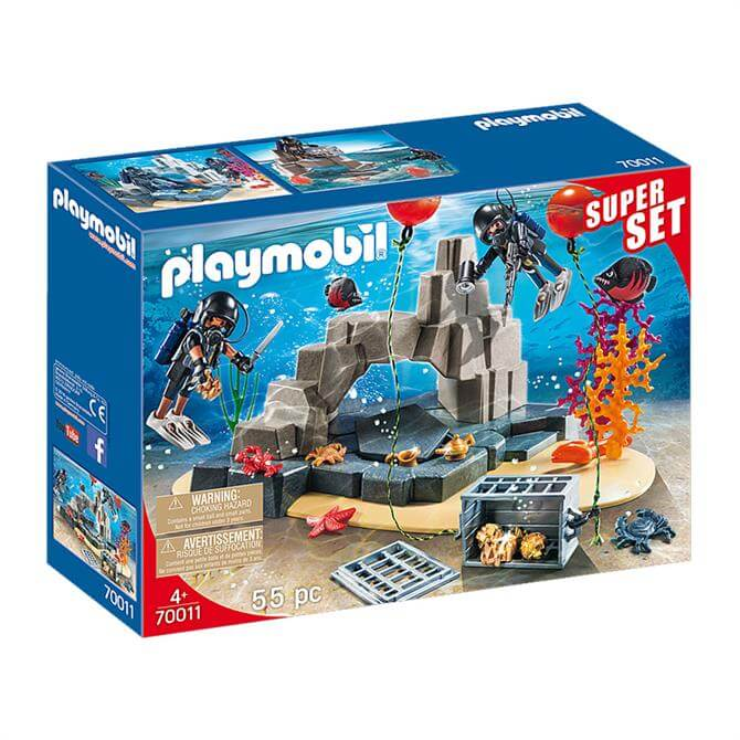 Playmobil SuperSet Tactical Dive Unit Set 70011