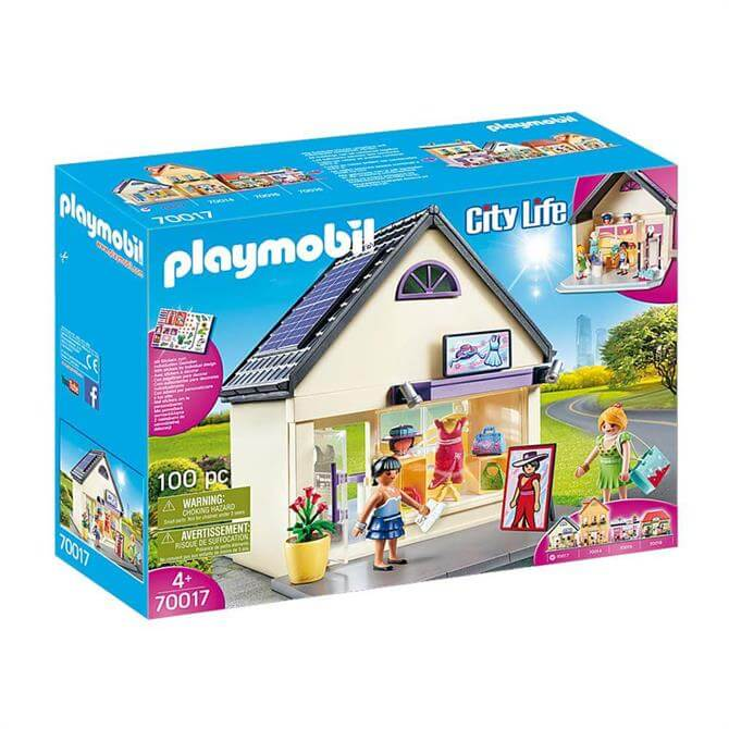 Playmobil City Life My Fashion Boutique 70017