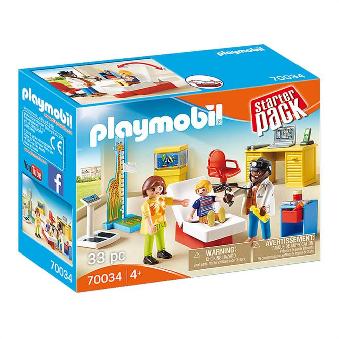 Playmobil Starter Pack Pediatrician's Office 70034