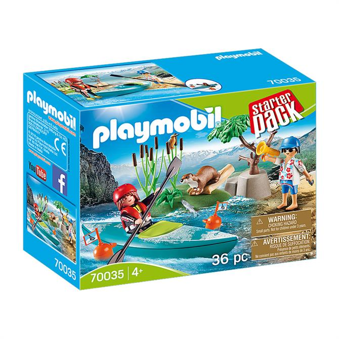 Playmobil Starter Pack Kayak Adventure 70035