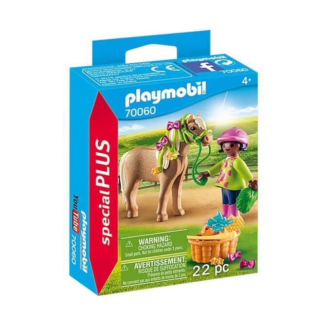 Playmobil Girl with Pony Figure Set 70060