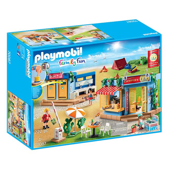 Playmobil Family Fun Large Campground 70087