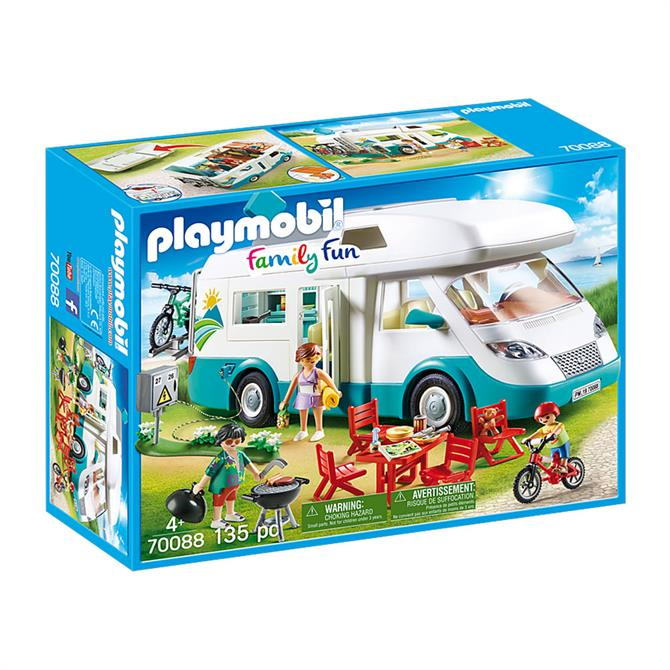 Playmobil Family Fun Family Camper Van 70088