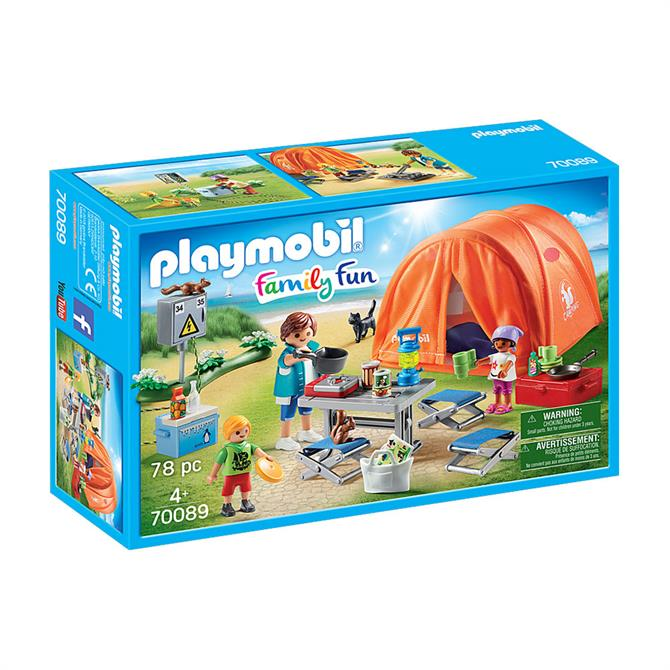 Playmobil Family Fun Family Camping Trip 70089