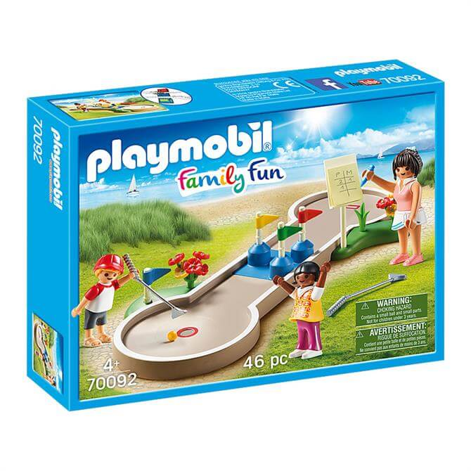 Playmobil Family Fun Mini Golf 70092