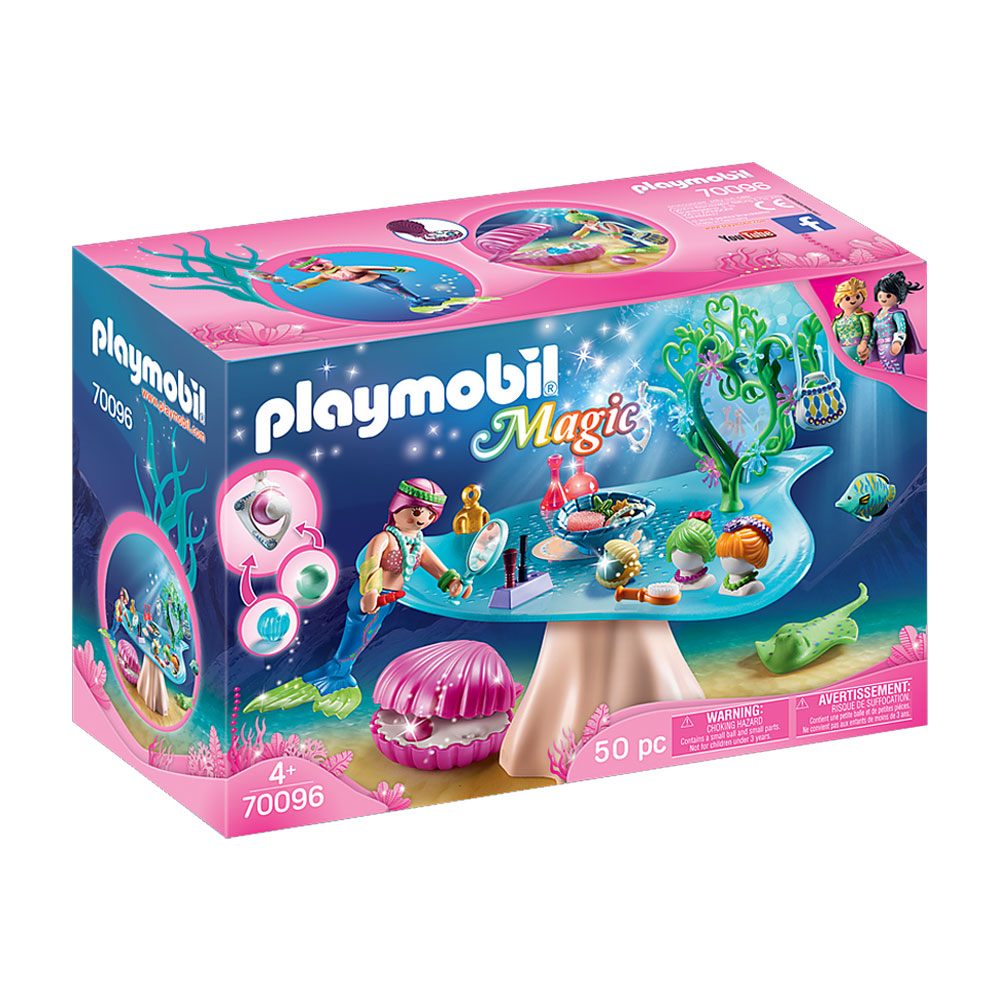 An image of Playmobil Magic Beauty Salon with Jewel Case 70096