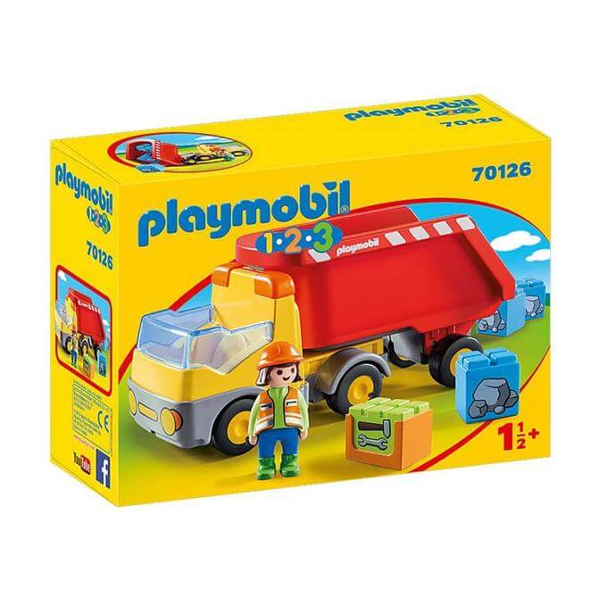 Playmobil 123 Dump Truck 70126