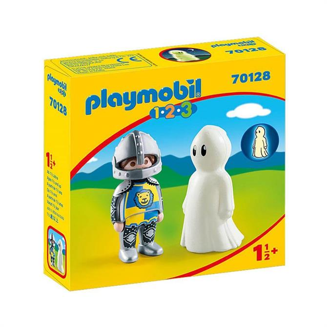 Playmobil 123 Knight with Ghost 70128