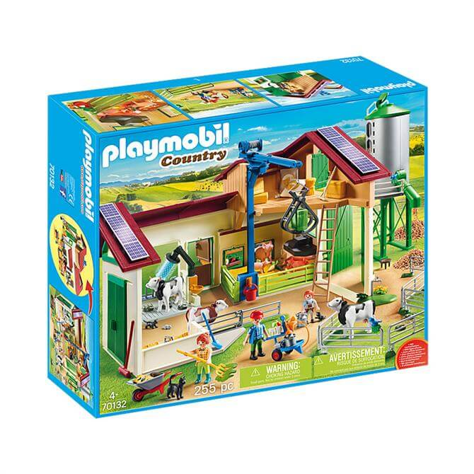 Playmobil Country Farm with Animals 70132 Set
