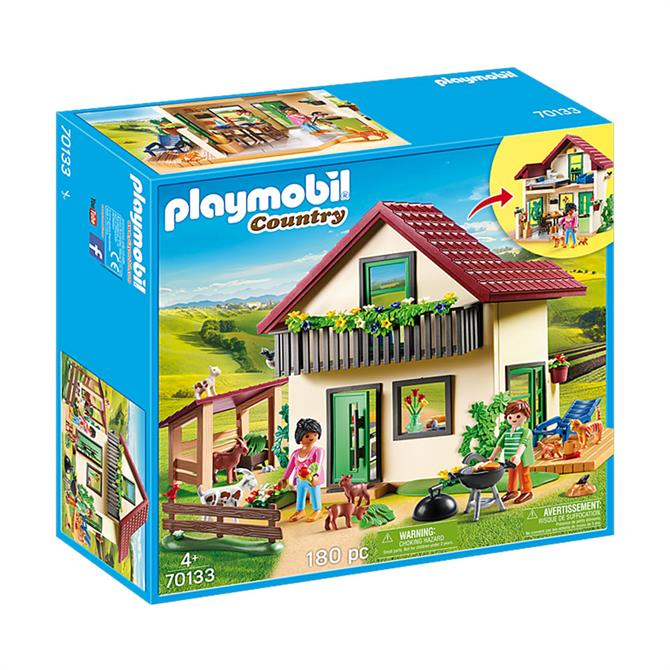 Playmobil Country Modern Farmhouse 70133 Set