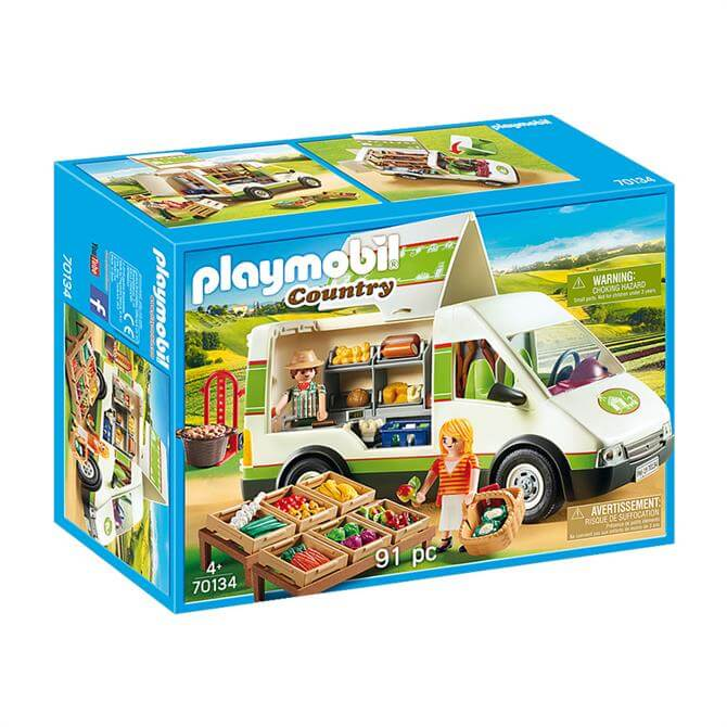 Playmobil Country Mobile Farm Market 70134