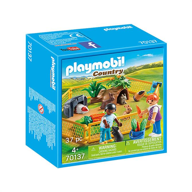Playmobil Farm Animal Enclosure 70137