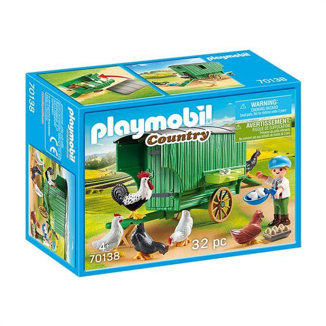 Playmobil Country Chicken Coop 70138