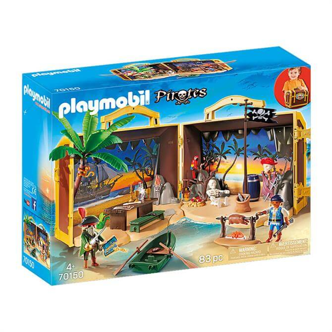 Playmobil Pirates Take Along Pirate Island 70150