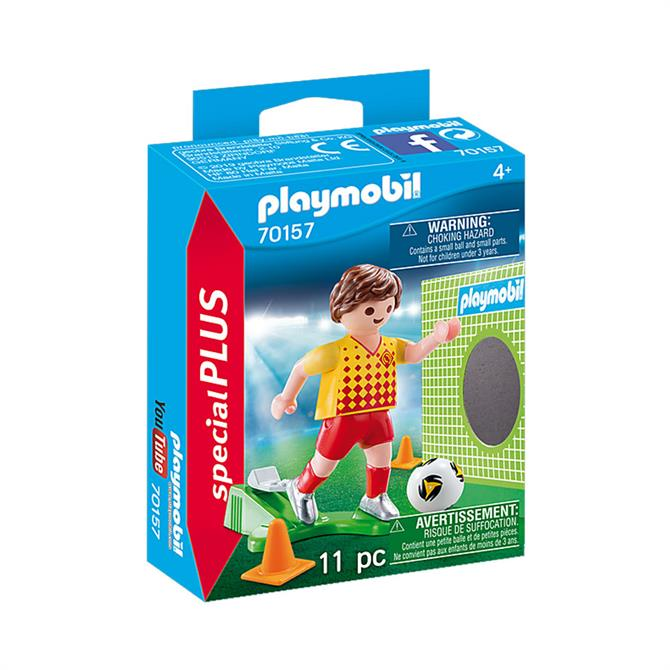 Playmobil Special PLUS Figures Soccer Player with Goal 70157