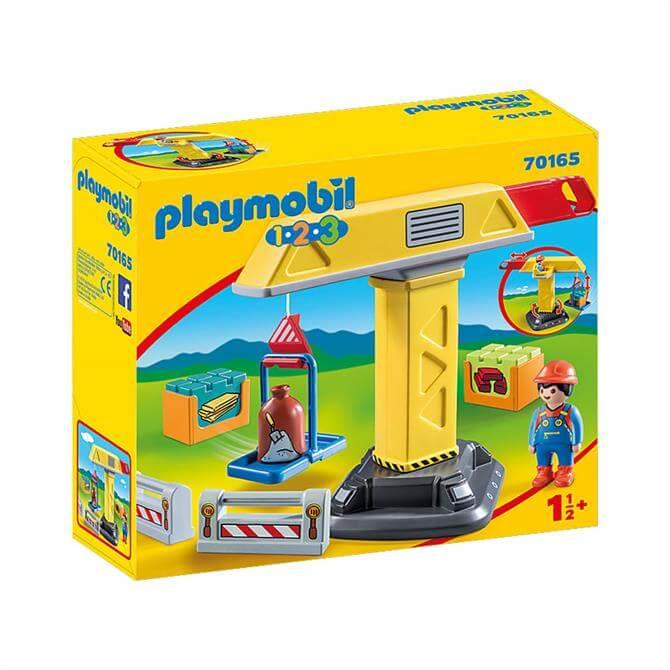 Playmobil 123 Construction Crane 70165
