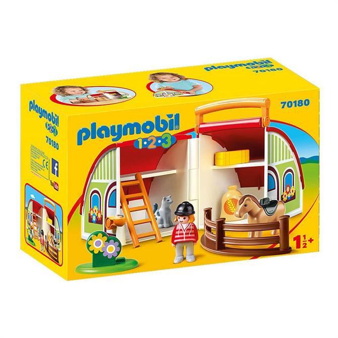 Playmobil 123 My Take Along Farm 70180