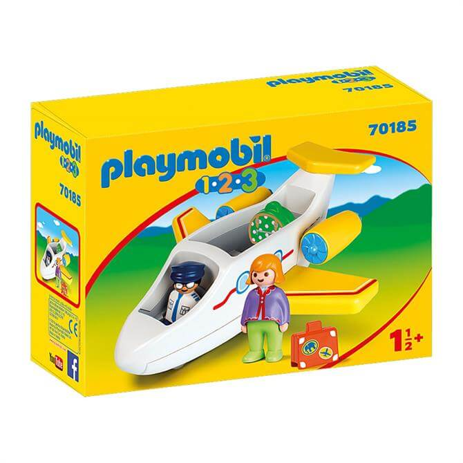 Playmobil Plane with Passenger 70185