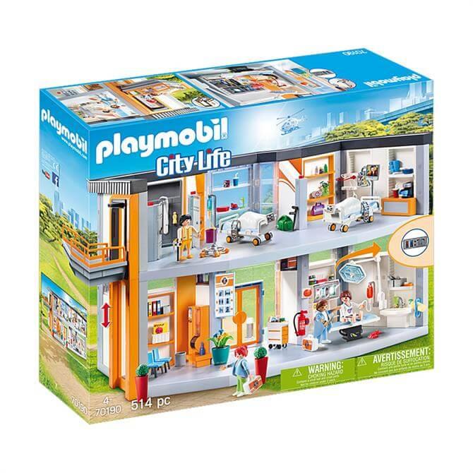 Playmobil City Life Large Hospital 70190 Set