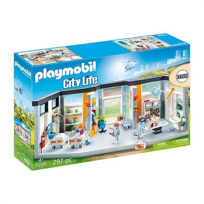 Playmobil City Life Furnished Hospital Wing 70191 Set